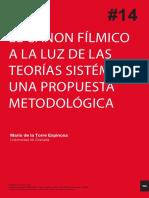 CANON FILMICO Y POLISISTEMA