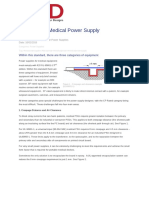 Designing a Medical Power Supply