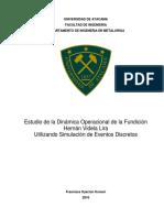 estudio de la dinámica operacional de la fundición Hernan Videla Lira usando simulación de eventos discretos.docx