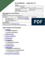 PROGRAMA ALEMAN B2.1 CURSO 2017-18