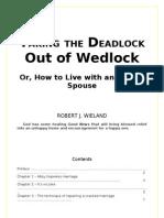 Taking the Deadlock Out of Wedlock - Robert J. Wieland - word 2003