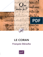Coran_ __ Que sais-je _ __ ndeg 1245, Le - Francois Deroche.epub