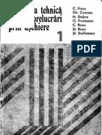 Picos Volumu I Normarea Tehnica Pentru Prelucrari Prin Aschiere