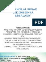 Diapositiva La Ecologia