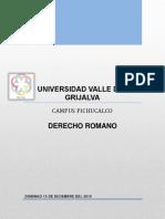 TRABAJO FINAL DE DERECHO ROMANO