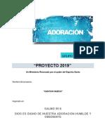 Proyecto Ministerio Alabanza