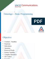 Datastage – Basic Programming-1