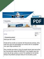 Frecuencias aereas! - FsMex.com