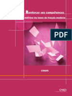 Sommaire Renforcer Competences Francais Moderne