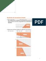 Matematicas Resueltos (Soluciones) Programación Lineal.Inecuaciones 2º Bachillerato Opción A