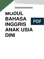 MODUL BAHASA INGGRIS AUD