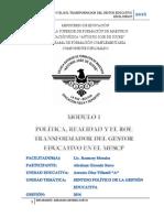 PRODUCTOS DEL MODULO 1
