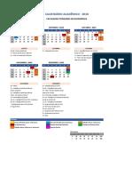 Calendario Academico 2018-2