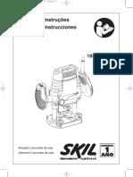 Manual fresadora Skil 1831..