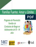 Introducción a Familias Fuertes Amor y Límites_0