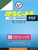 JPSC Civil Paper