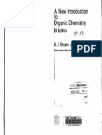 A New Introduction to Organic Chemistry by G.I. Brown