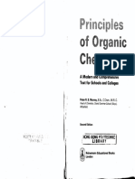 Principles of Organic Chemistry Second Edition by Peter R.S. Murray