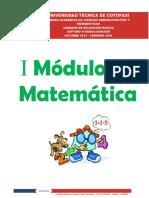 MODULO DE MATEMATICAS