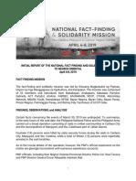 Initial NFSM Report Negros Oriental
