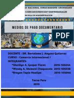 medios de pago documentario