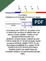 Mari personalitati romane