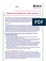 84 Sources of Funding for Older Learners