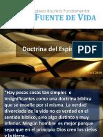 Doctrina del Espíritu Santo