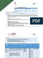 Planeación didáctica UnADM Industrialización y productividad de los entornos unidad I