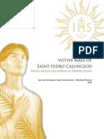 Votive-Mass-of-St.-Pedro-Calungsod