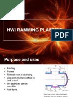 HWI Ramming Plastics
