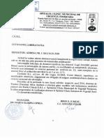 Răspunsul Spitalului Municipal din Timișoara pentru Libertatea