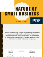 The nature of small business.pptx