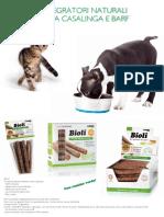 FD - dieta casalinga e barf integratori