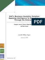 Misc IDC SAP AA - Marketing Analysis