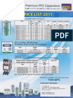 Price List Capacitor Epcos
