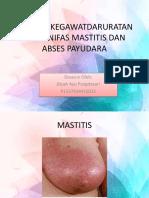 372034964-Asuhan-Kegawatdaruratan-Masa-Nifas-Mastitis-Dan-Abses-Payudara.pptx