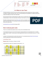 20 Jazz Guitar Scales & When to Use Them