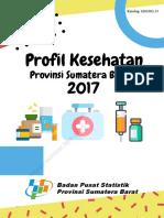 Profil Kesehatan Provinsi Sumatera Barat 2017