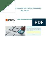 Manual de Usuario Del Portal de Empleo Del Salud (1)