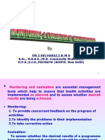 Presentation monitoring and evaluation of health programs.ppt