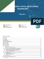 National Spacial Development Framework