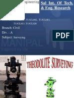 Theodolite Survey