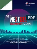Program Book The NextDev Summit Final