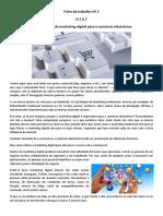 Ficha de trabalho Marketing Digital