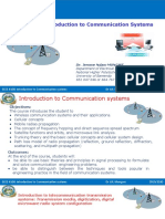 Lec # 01 Introduction to Communication Systems