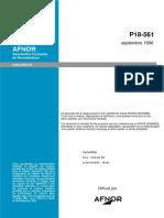 P18-561 Applatissement