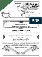 Aqiqah (1 halaman)