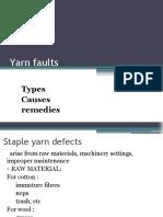 Yarn Faults