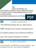Lec # 12 - EGPRS- GPRS and EDGE- Group 8